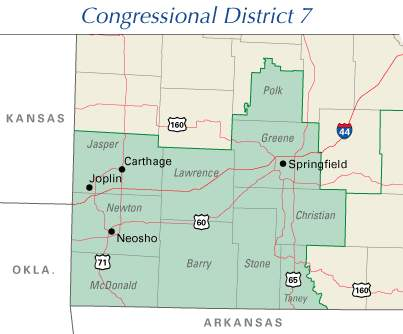 Th MRA Home Page Of True Republican Conservatism - Missouri us congressional district map